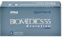 Контактные линзы Biomedics 55 Evolution - купить